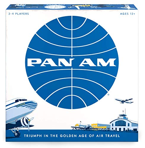 Pan Am, Funko Games, 2020 — front cover (image provided by the publisher)