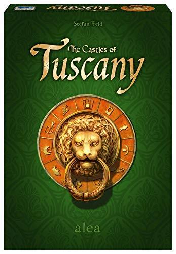Ravensburger 26916 - The Castles of Tuscany, Strategiespiel für 2-4 Spieler ab 10 Jahren, alea...