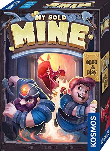KOSMOS 680770 My Gold Mine, spannendes Kartenspiel, 2-6 Personen, Familienspiel auch für unterwegs,...
