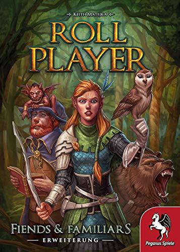 Pegasus Spiele 51307G - Roll Player: Fiends & Familiars (Erweiterung)