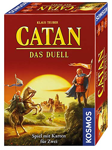 Catan: Das Duell, KOSMOS, 2016 — front cover (image provided by the publisher)