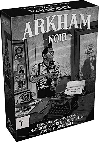 Arkham Noir - Die Hexenkult-Morde - Solo-Kartenspiel Fall-1 | DEUTSCH