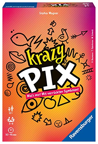 Krazy Pix, Ravensburger, 2020 — front cover (image provided by the publisher)