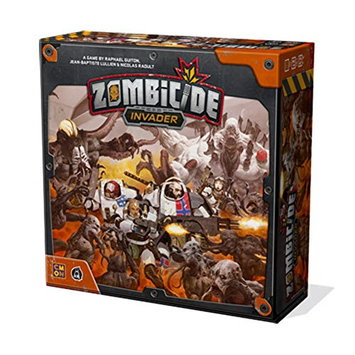 Zombicide:Invader, CMON Limited/Guillotine Games, 2018 — front cover (image provided by the publisher)