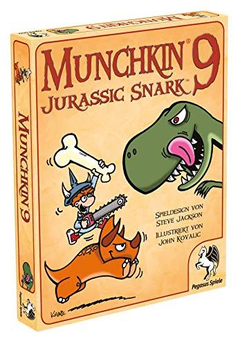 Pegasus Spiele 17220G - Munchkin 9, Jurassic Snark