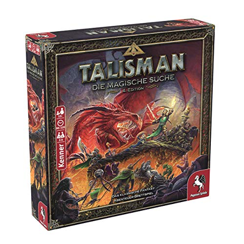 Talisman: Die Magische Suche, Pegasus Spiele, 2019 — front cover (image provided by the publisher)