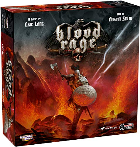 Blood Rage, Guillotine Games/Cool Mini Or Not, 2015 (image provided by the publisher)