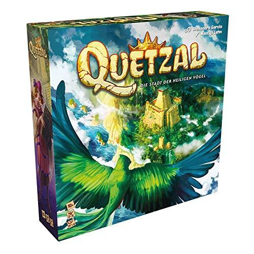 Asmodee Quetzal, Kennerspiel, Strategiespiel, Deutsch