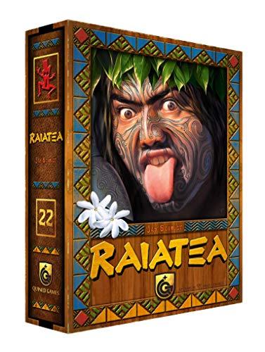 Raiatea, Quined Games, 2018 — front cover