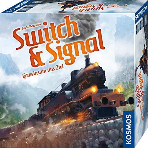 KOSMOS 694265 Switch & Signal, Gemeinsam ans Ziel, kooperatives Eisenbahn-Spiel für 2 - 4 Spieler,...