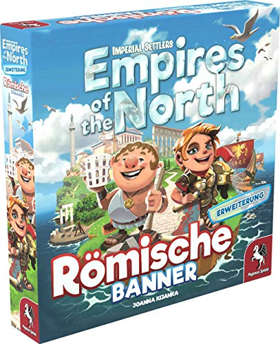 Imperial Settlers: Empires of the North – Roman Banners, Portal Games, 2020 — front cover