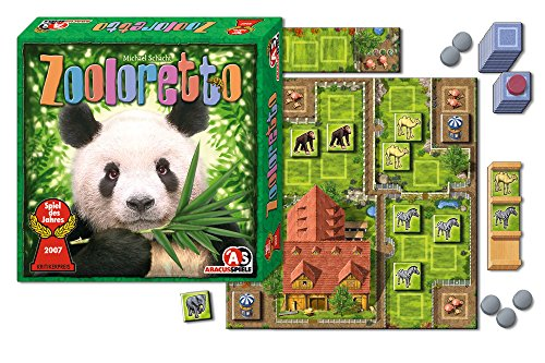 ABACUSSPIELE 03071 - Zooloretto, Spiel des Jahres 2007, Brettspiel, Kinderspiel
