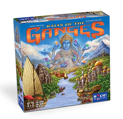Rajas of the Ganges - Meine Top 10 Brettspiele 2018