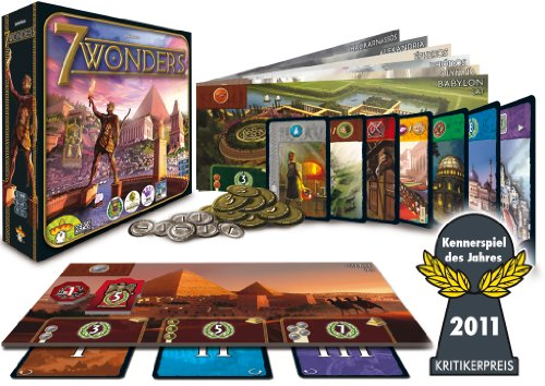 Asmodee Repos Production 200979 - 7 Wonders, Grundspiel, Deutsch