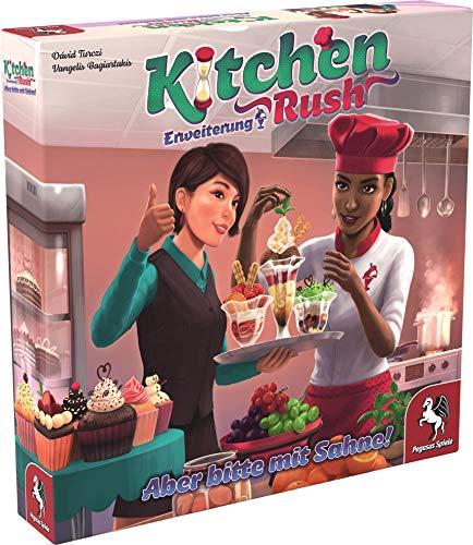 Pegasus Spiele 51228G - Kitchen Rush: Aber bitte mit Sahne! [Erweiterung]