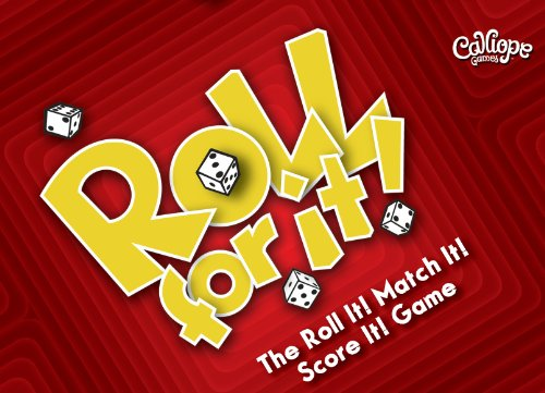 "Calliope Games, Brettspiel ""Roll for It"", Mehrfarbig, 330269"