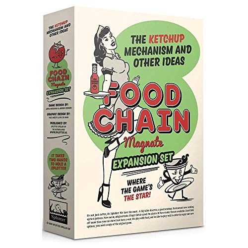 Splotter Spellen Food Chain Magnate - The Ketchup Mechanism and Other Ideas Deutsch/Englisch