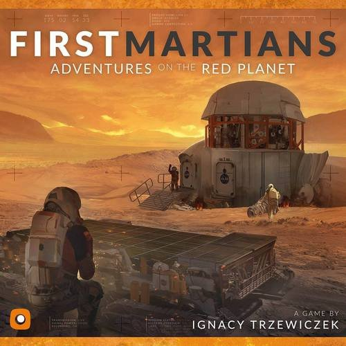 Wydawnictwo Portal POP00088 Brettspiel First Martians: Adventures on The Red Planet