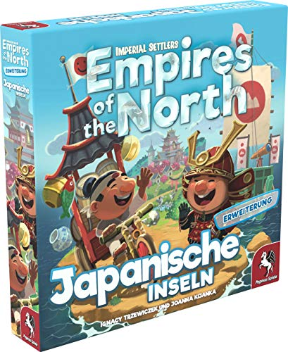 Imperial Settlers: Empires of the North – Japanese Islands, Portal Games, 2019 — front cover (image provided by the publisher)