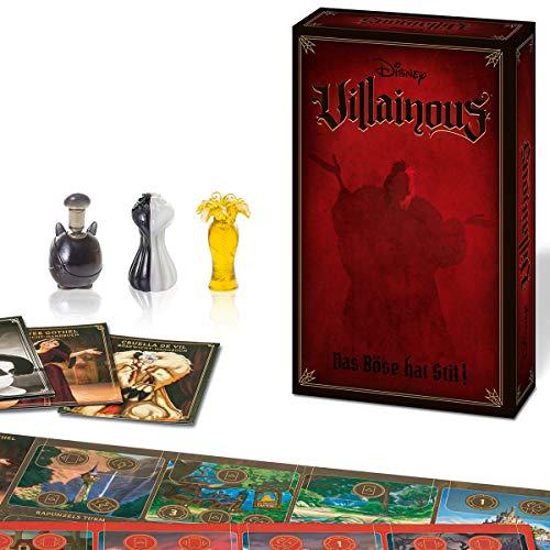 Ravensburger 26958 - Disney Villainous - Das Böse hat Stil, 3 Erweiterung von Villainous ab 10...