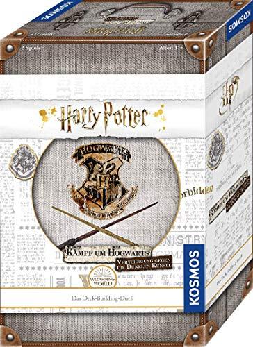Kosmos Harry Potter Kampf um Hogwarts - Verteidigung gegen die Dunklen Künste, Deck-Building-Duell...
