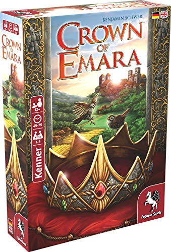 Crown of Emara - Meine Top 10 Brettspiele 2018