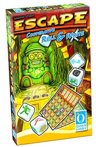 Queen Games 10545 - Escape Roll & Write