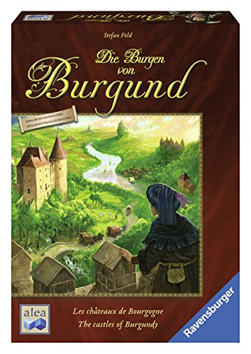 The Castles of Burgundy, Ravensburger, 2012 (image provided by the publisher)