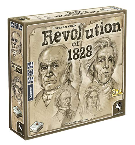 Revolution of 1828 - Revolution of 1828, Frosted Games, 2019 — non-final cover (image provided by the publisher)