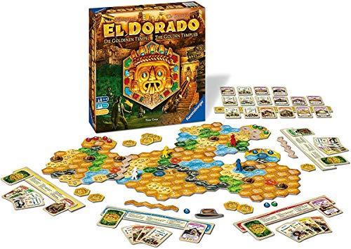 Ravensburger 26129 - El Dorado - zweite Erweiterung, Strategiespiel, Spiel für Erwachsene und...