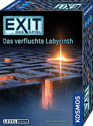 KOSMOS 682026 EXIT - Das Spiel - Das verfluchte Labyrinth, Level: Einsteiger, Escape Room Spiel,...