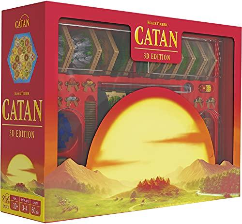CATAN UNbox Now | Catan 3D-Edition | ab 10 Jahren | 3–4 Spieler | Spielzeit 60 Minuten | von Catan...