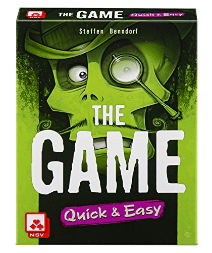 The Game: Quick & Easy, Nürnberger-Spielkarten-Verlag, 2020 — front cover