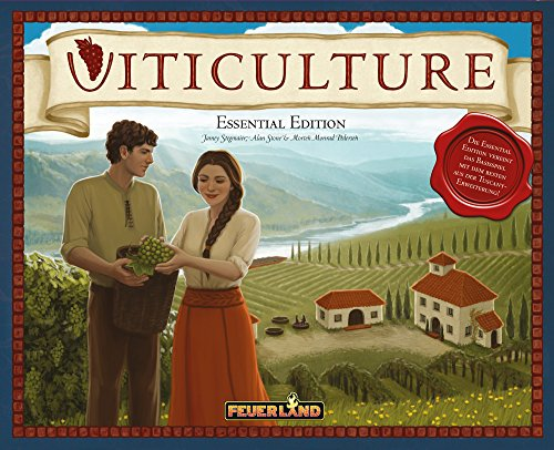 Top 50 Brettspiele - Viticulture Essential Edition