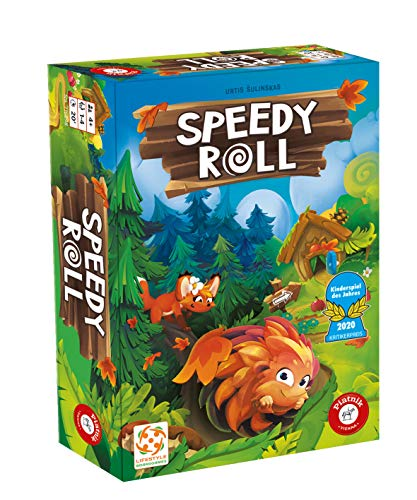 Speedy Roll, Piatnik, 2019 — front cover (image provided by the publisher)
