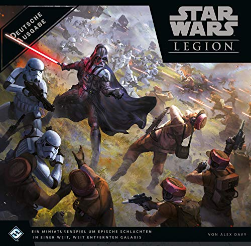 Fantasy Flight Games FFGD4600 Asmodee Star Wars: Legion, Grundspiel,Expertenspiel, Tabletop, Deutsch