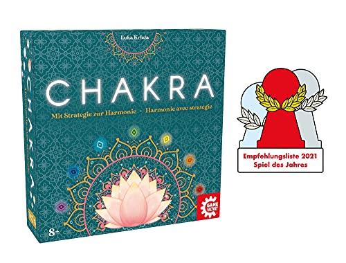 Game Factory 646277 Chakra, Mit Strategie zur Harmonie, Familienspiel, Strategiespiel für...