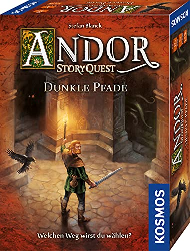 Andor StoryQuest: Dunkle Pfade, KOSMOS, 2021 — front cover (image provided by the publisher)
