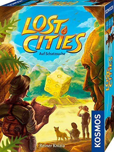 Lost Cities: Auf Schatzsuche, KOSMOS, 2019 — front cover (image provided by the publisher)