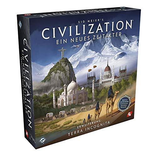 Civilization FFGD0174 Asmodee neues Zeitalter-Terra Incognita-Erweiterung, Strategiespiel,...