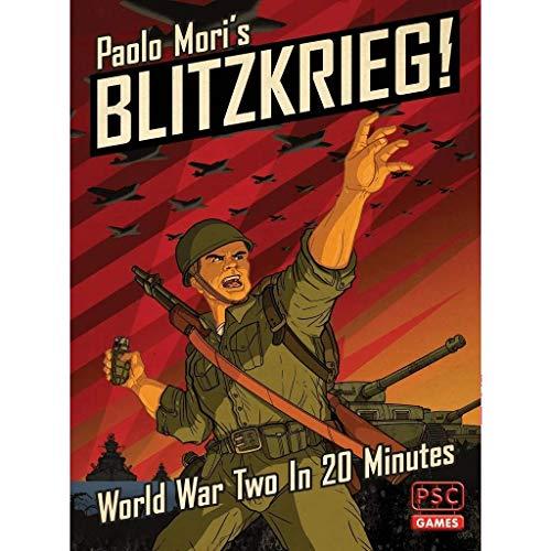 Strategic Wargame Blitzkrieg! - World War Two in 20 Minutes