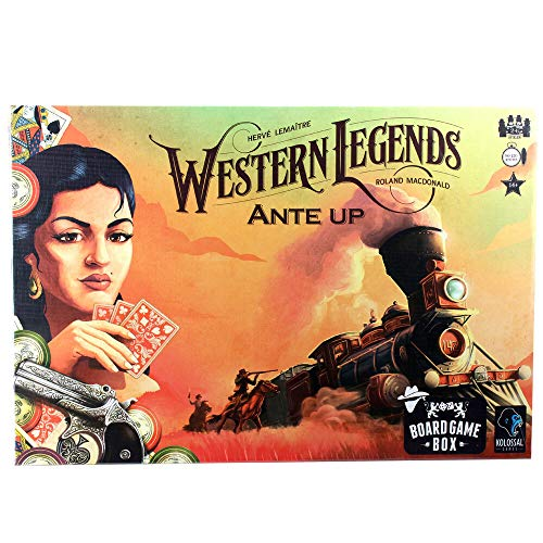 Board Game Box Western Legends - Ante Up Erweiterung