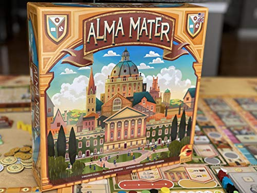 Alma Mater, eggertspiele, 2020 — front cover (image provided by the publisher)