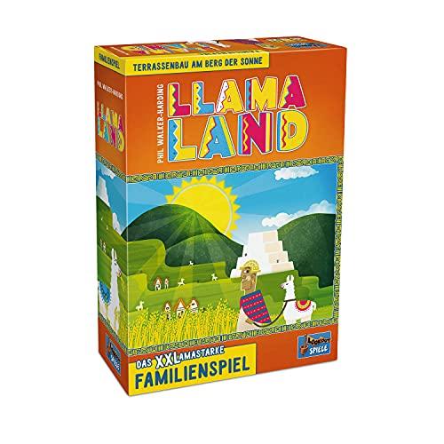 Lookout Llamaland - EIN familienfreundliches Puzzlespiel für 2 bis 4 Spieler ab 10 Jahren, 22160139