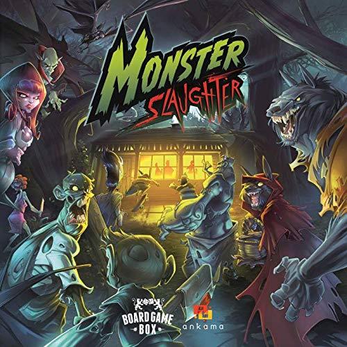 Board Game Box 22501216 Slaughter-Das Spiel, in dem Ihr die Monster seid