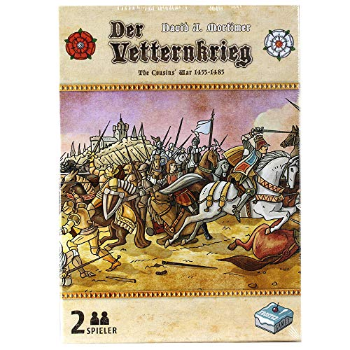 Der Vetternkrieg, Frosted Games, 2018 — front cover (image provided by the publisher)