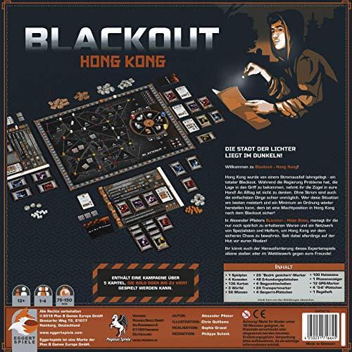 Top 50 Brettspiele - Blackout: Hong Kong