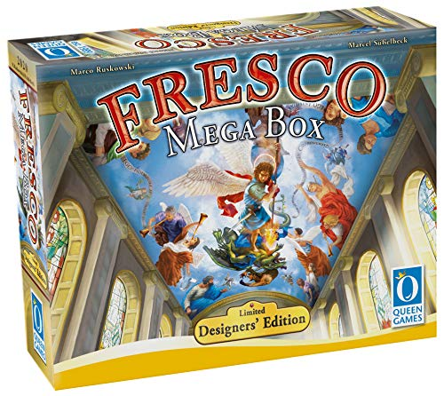 Queen Games 10573 - Fresco Mega Box