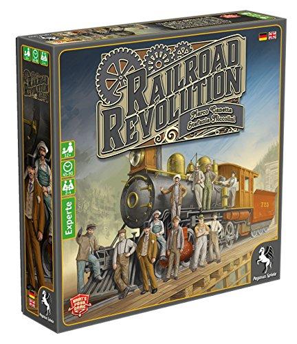 Pegasus Spiele 56020G - Railroad Revolution