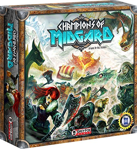 Top 10 Worker Placement Brettspiele - Champions of Midgard